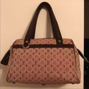 Authentic Louis Vuitton Josephine Mini Lin PM